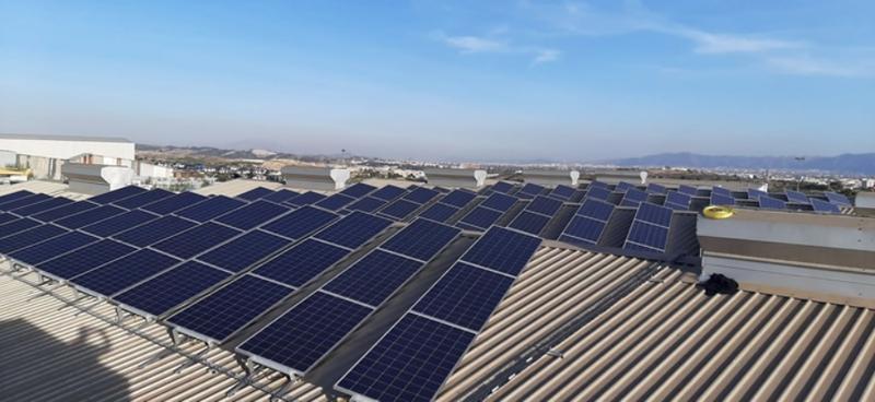 Inauguración en la ITV de Alcantarilla, Murcia, de una planta fotovoltaica para consumo cero de energía.
