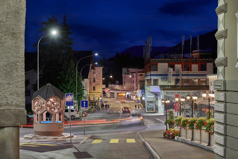 Signify ayuda a la ciudad de Davos a realizar su propio Green Deal a través de la actualización LED