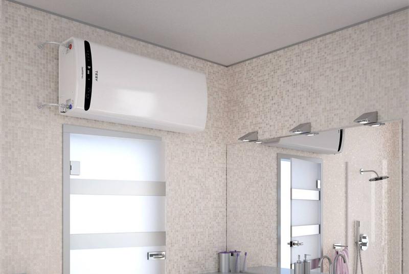 TESY presenta los termos eléctricos BelliSlimo Dry Termos eléctricos con doble acumulación y resistencias eléctricas independientes en seco