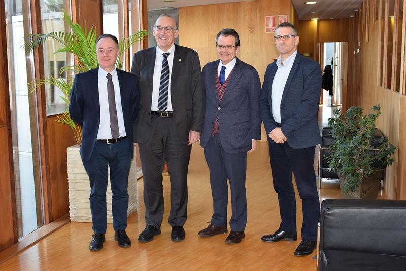 Inega aporta 2,28 millones de euros para proyectos de ahorro de energía en los tres campus.