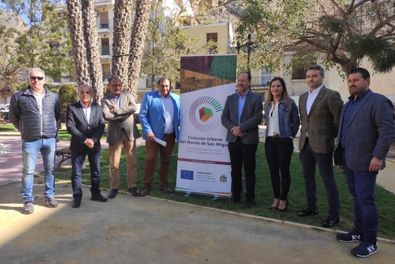 El Ayuntamiento de Orihuela implantará un sistema inteligente de alumbrado público en más de 2.000 luminarias en el entorno del Cinturón del Monte de San Miguel