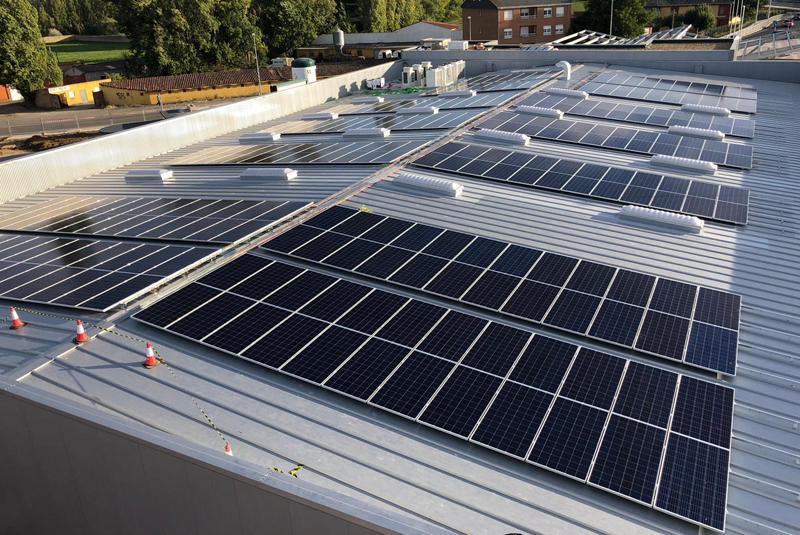 Masymas estrena su primera instalación fotovoltaica para autoconsumo en León