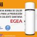 Lanzamiento de la gama de bombas de calor aire-agua Egea de Ferroli para producción de agua caliente sanitaria