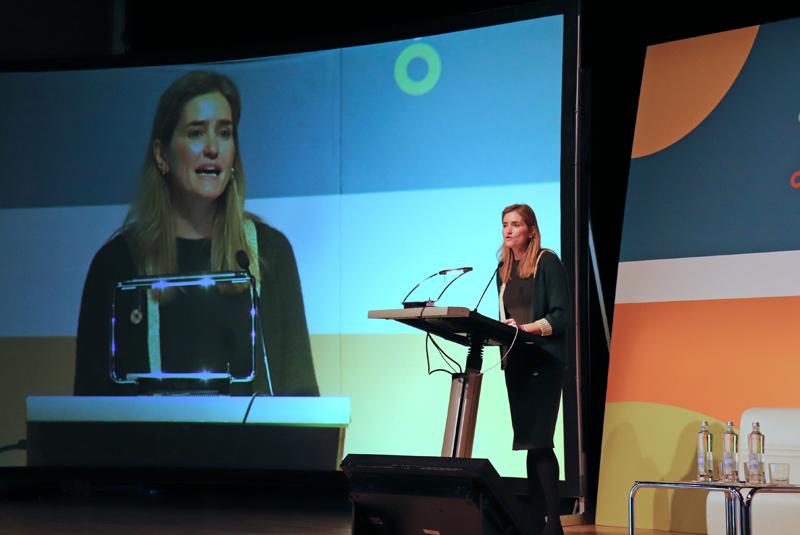 Sara Aagesen, secretaria de Estado de Energía, inauguró el encuentro.