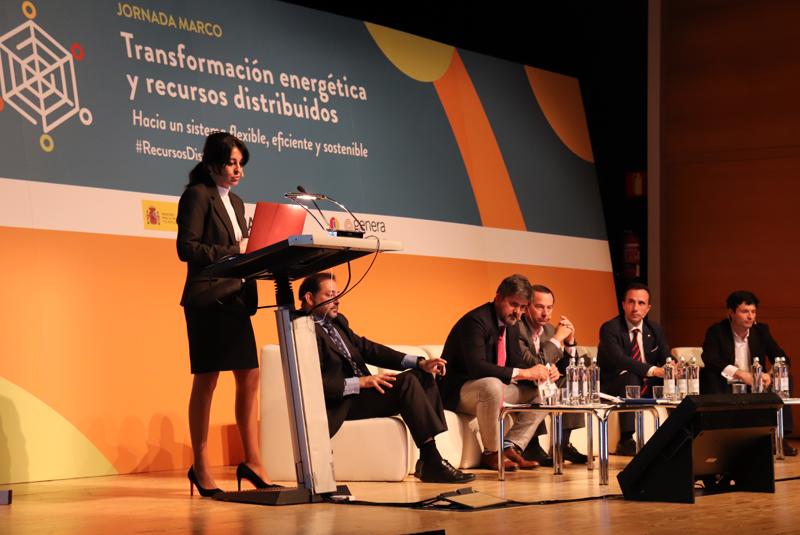 Lucía Dólera, de Appa Renovables, expuso las conclusiones del proyecto europeo IDistributedPV.