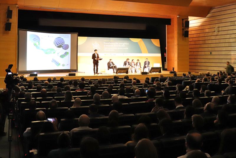 """Jornada Marco IDAE """"Transformación energética y recursos distribuidos""""."""
