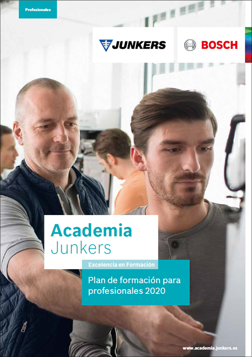 Como novedad, este año Junkers ha firmado nuevos acuerdos con gremios de instaladores de España para impartir talleres y formaciones en sus centros.