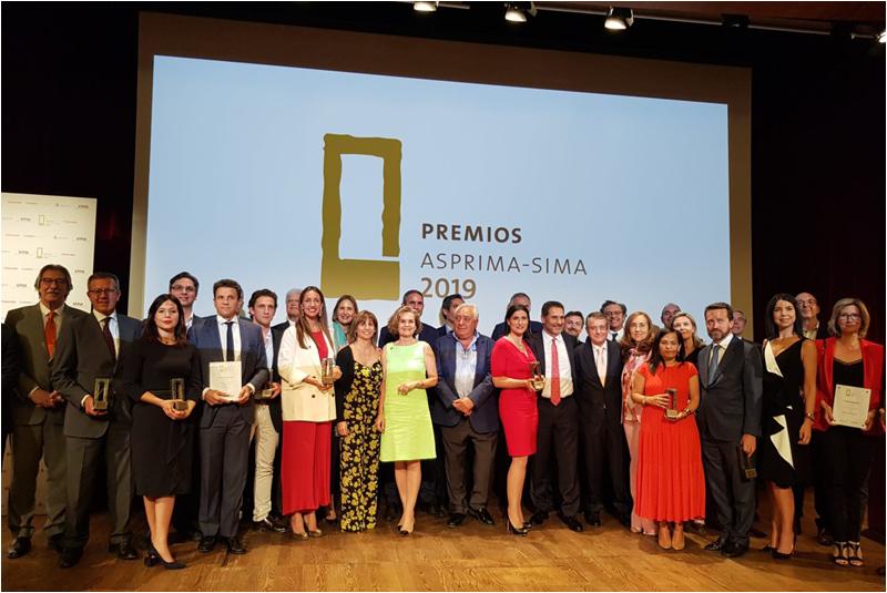Premios ASPRIMA-SIMA 2020