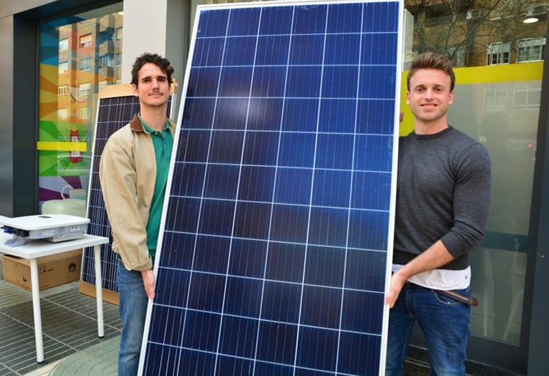 Egresados de la UPCT proyectan la primera instalación fotovoltaica de autoconsumo comunitario en Cartagena