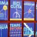 Carteles en los edificios municipales de Cádiz dentro de una campaña para promover la eficiencia energética
