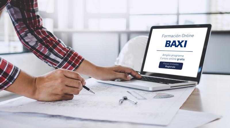 Baxi amplía la oferta formativa de sus cursos online para instaladores de climatización.
