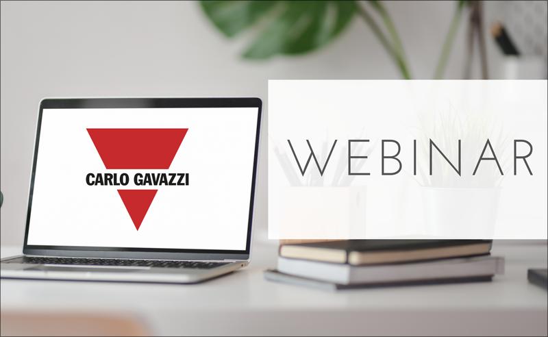 Carlo Gavazzi ofrece tres webinar gratuitos.