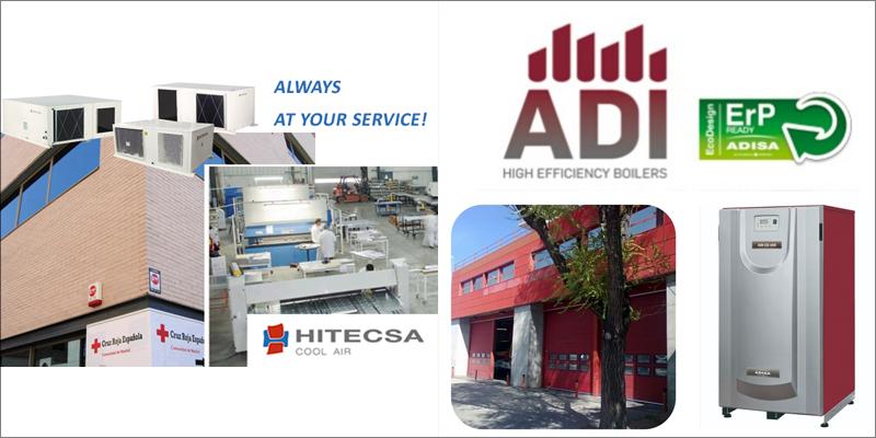 Un centro de Cruz Roja y un parque de bomberos de Madrid confían en Hitecsa para climatizar sus instalaciones