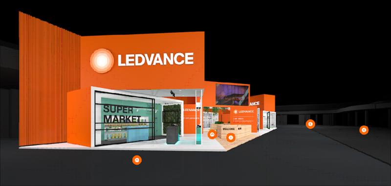 Tras el aplazamiento de Ligth+Building 2020, LEDVANCE recrea su stand virtualmente