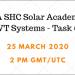 Seminario web sobre sistemas PVT que combinan tecnología solar térmica y fotovoltaica en calefacción y refrigeración