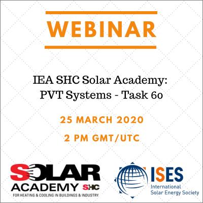 Seminario web sobre tecnologías PVT: calefacción y refrigeración solar.