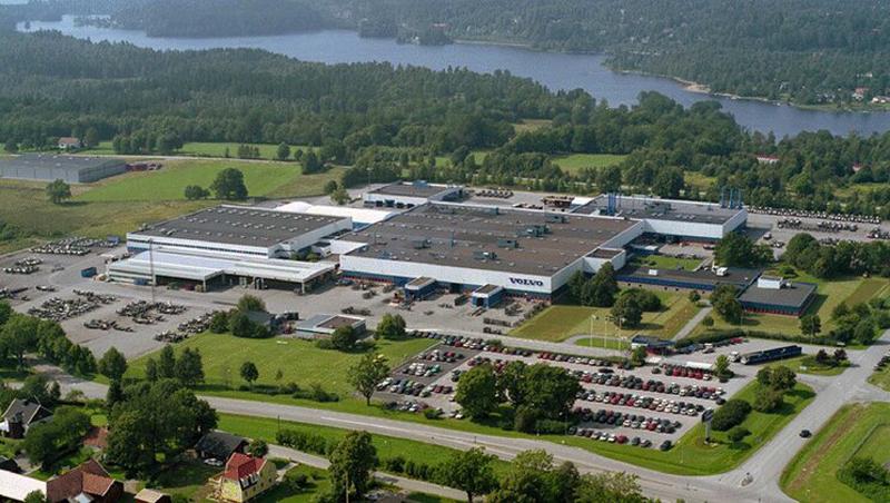 La planta de autobuses de Volvo en Borås funciona únicamente con energía renovable