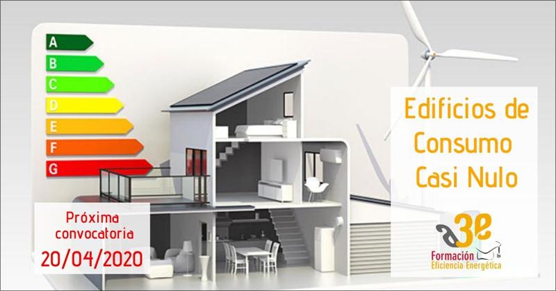 El próximo 20 de abril comienza la siguiente convocatoria del curso de Edificios de Consumo Casi Nulo (ECCN).