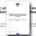 "Informe de Easme ""Public procurement of energy-efficient works, supplies and services"""