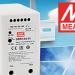 Convertidor DDRH-60 para carril DIN de 60W apto para aplicaciones de energía renovable
