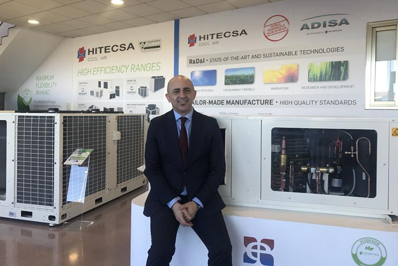 Moisés Sánchez,, CEO de Hiplus Aire Acondiciomado-.