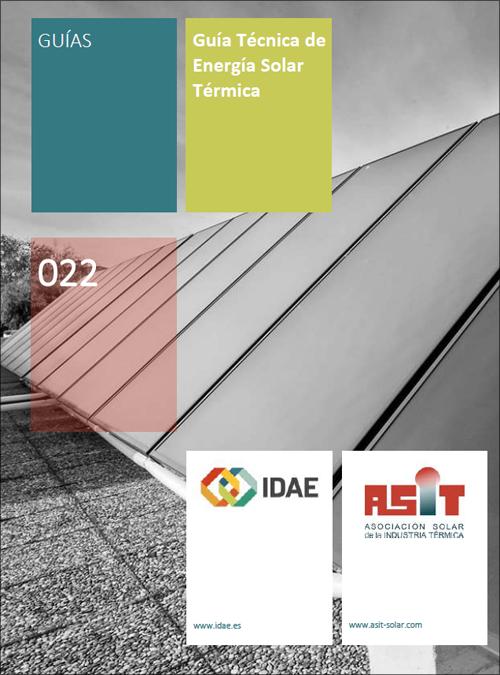 IDAE y ASIT lanzan la Guía Técnica de la Energía Solar Térmica adaptada a las modificaciones del HE4