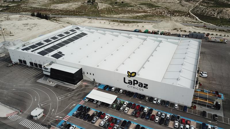 Konery pone en marcha una instalación solar fotovoltaica de autoconsumo para Cítricos La Paz