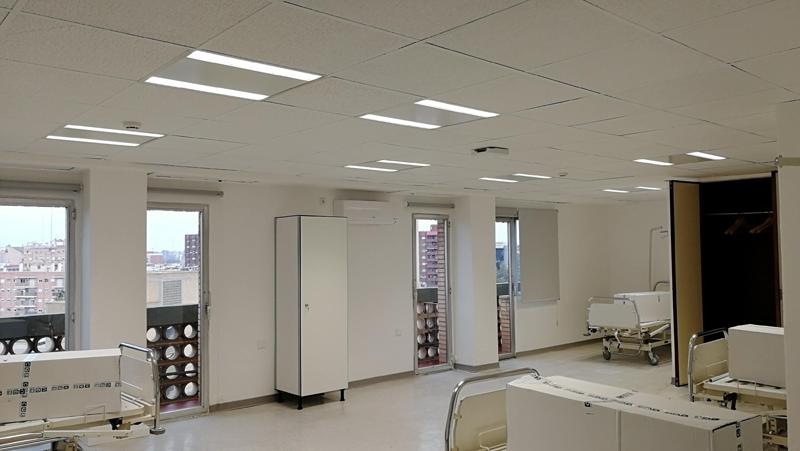 Signify apoya las obras de emergencia de Valencia y al hospital de campaña en IFEMA en Madrid con la donación de cerca de 1.000 productos de iluminación