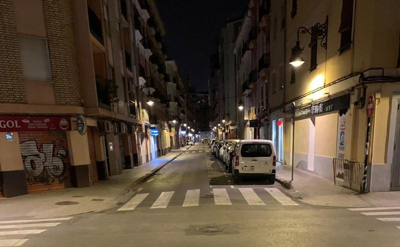 Tres cuartas partes de las actuaciones para renovar el alumbrado público de Valencia ya han finalizado.