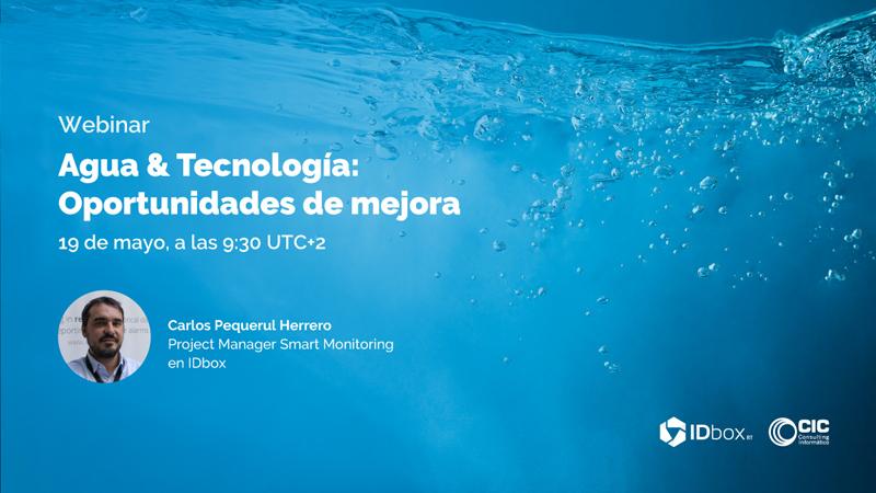 Webinar de CIC Consulting Informático sobre agua e Inteligencia Operacional