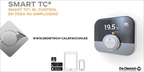 Termostato ambiente WiFi Smart TCº De Dietrich