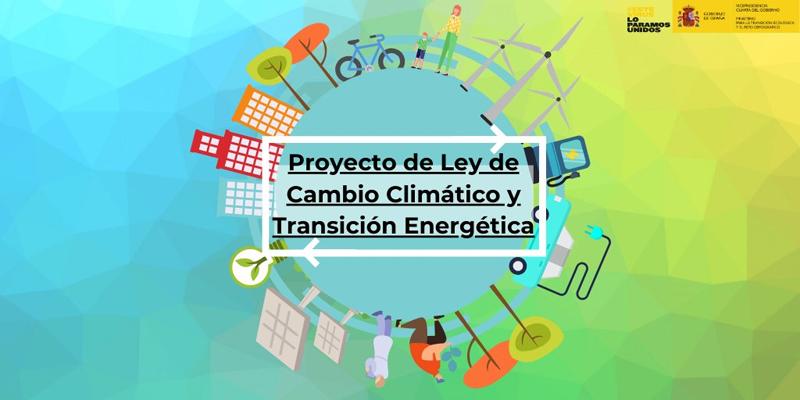 l Gobierno envía a las Cortes el primer proyecto de Ley de Cambio Climático y Transición Energética para alcanzar la neutralidad de emisiones a más tardar en 2050icono barra herramientas