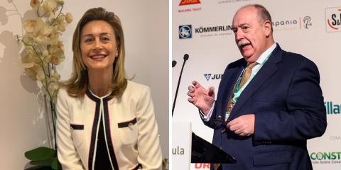 Rocío Fernández y Guillermo Escobar, presidenta y coordinador técnico de la Plataforma Tecnológica Española de Eficiencia Energética
