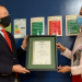 El Ayuntamiento de Murcia luce la placa que acredita su Gestión Energética según la ISO 5001