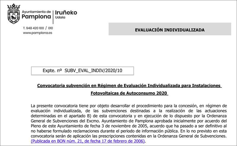 Publicada la convocatoria de ayudas para instalaciones fotovoltaicas de autoconsumo en viviendas unifamiliares y edificios de viviendas, dotada con 20.000 euros