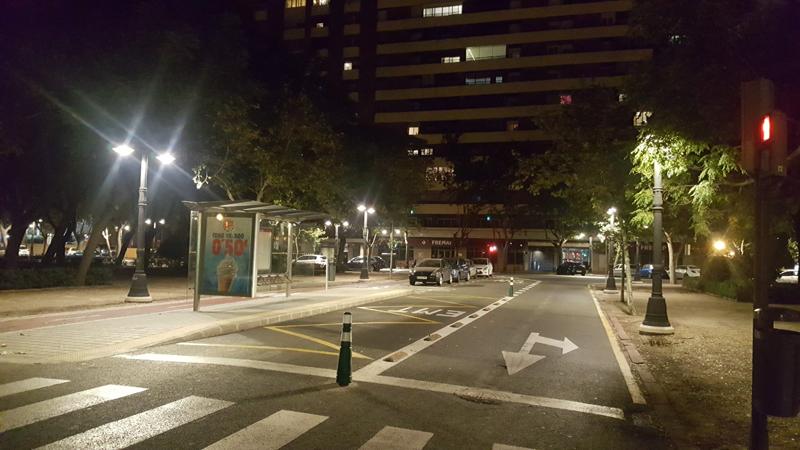 Valencia ya ha cambiado más de la mitad de su alumbrado público con un ahorro de 4,2 millones anuales.