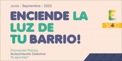 Valencia inicia una campaña para promover el autoconsumo colectivo en dos barrios