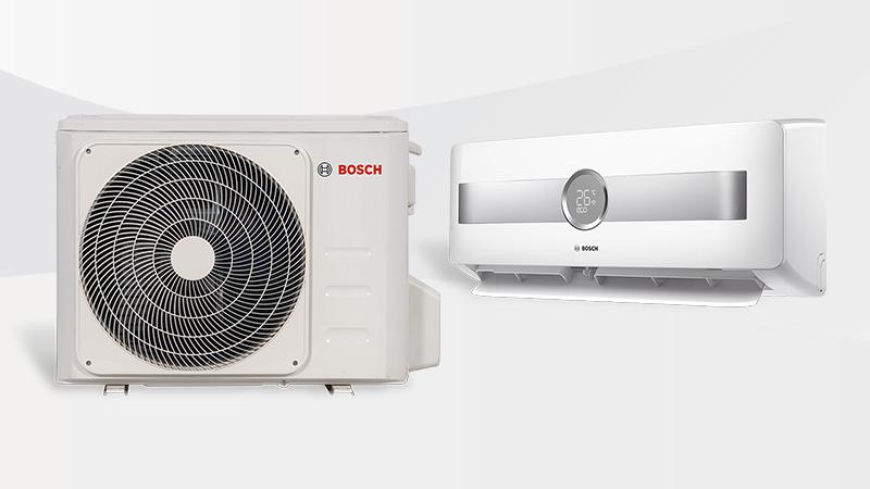 El nuevo aire acondicionado Split Mural Climate 8500 R32 se adapta a las necesidades de cada usuario y vivienda, ofreciendo toda la innovación y la tecnología Bosch