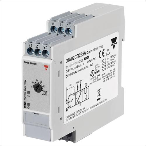 Carlo Gavazzi lanza su relé control de intensidad de carga ON/OFF DIA02, para los mercados de automatización de edificios y climatización.