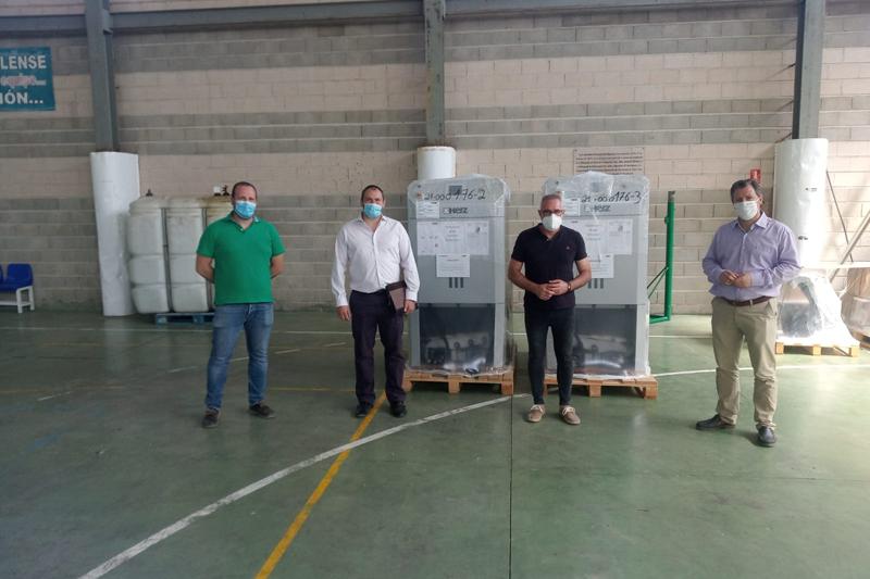 La Diputación de Jaén apuesta por reducir emisiones de CO2 con una inversión de 3,5 millones de euros para instalar 52 calderas de biomasa