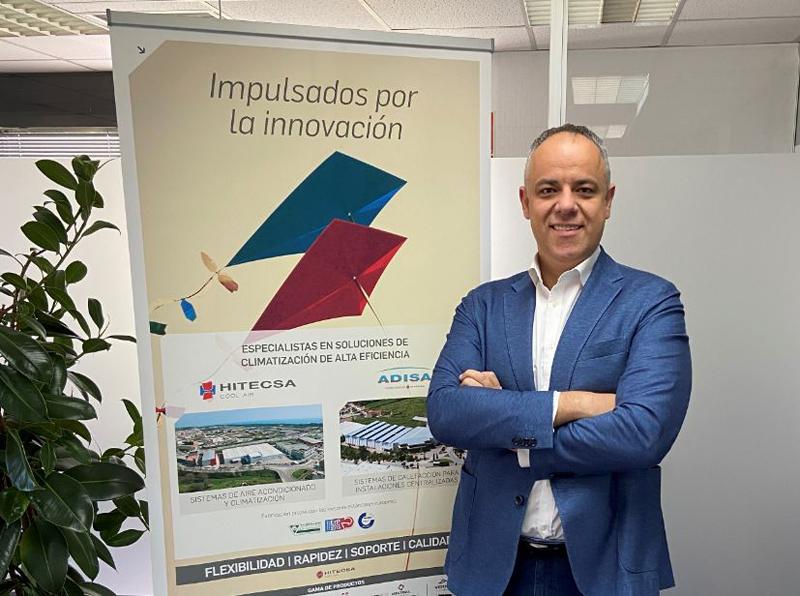 Juan Antonio Porto, nuevo International Sales Manager de Hitecsa y Adisa Heating