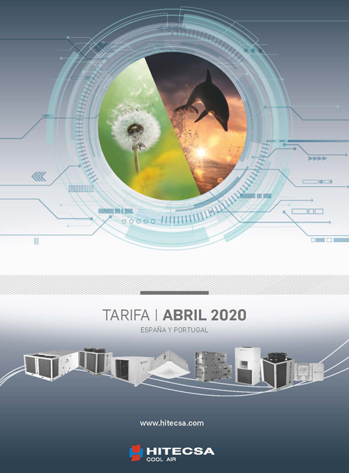 Hitecsa lanza su nueva Tarifa de Precios Abril 2020.