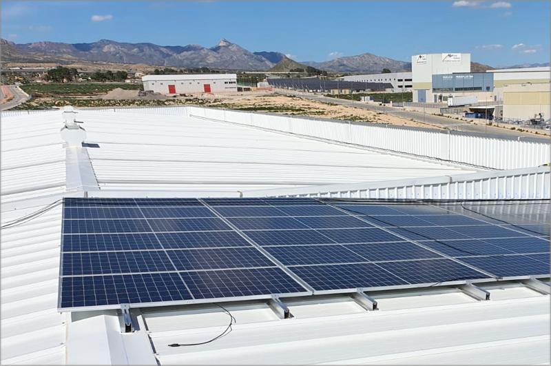 Instalación fotovoltaica de José Vidal.