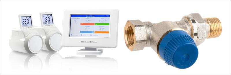 Tecnología sin cables Honeywell Home de Resideo para regular el confort de cada hogar en sistemas de calefacción centralizada.