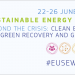 Abierto el plazo de inscripción en la Semana de la Energía Sostenible de la Unión Europea