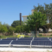 Puesta en marcha de una planta solar financiada con donativos en un instituto de acción social