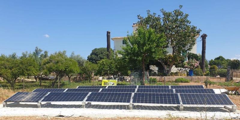 Som Energia financia una instalación de autoproducción para un proyecto contra la exclusión social en Mallorca