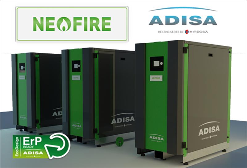 Nueva caldera NEO FIRE de Adisa Heating.