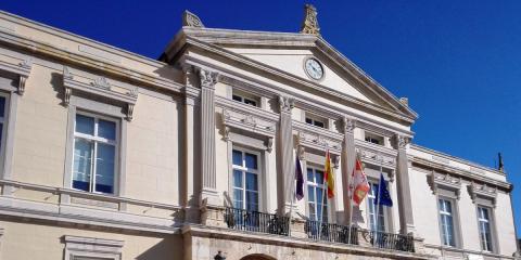 La Plaza Mayor de Palencia lucirá nueva iluminación con menor gasto energético