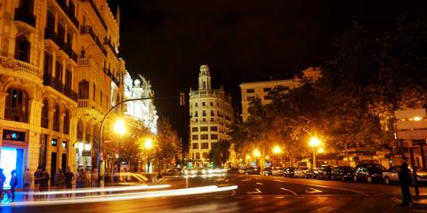Valencia se convierte en icono de iluminación eficiente gracias a su estrategia de renovación del alumbrado urbano